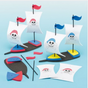 3D Pirate Ship Kits